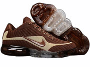Mens Nike Air Vapormax Running Shoes Brown Colour