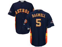 Mens Mlb Houston Astros #5 Jeff Bagwell Navy 2018 Gold Program Cool Base Player Jersey