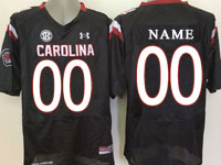 Mens Ncaa Nfl South Carolina Gamecock (custom Made) Black (sec) Elite Jersey