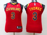 Youth Nba Cleveland Cavaliers #3 Isaiah Thomas Red Swingman Nike Jersey