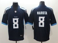 Mens New Nfl Tennessee Titans #8 Marcus Mariota Dark Blue 2018 Vapor Untouchable Limited Player Jersey
