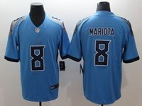 Mens New Nfl Tennessee Titans #8 Marcus Mariota Light Blue 2018 Vapor Untouchable Limited Player Jersey