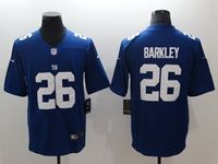 Mens Nfl New York Giants #26 Saquon Barkley Blue Vapor Untouchable Limited Nike Jersey