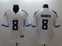 Mens New Nfl Tennessee Titans #8 Marcus Mariota White 2018 Vapor Untouchable Limited Nike Jersey