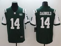 Mens New York Jets #14 Sam Darnold Green Vapor Untouchable Limited Jersey