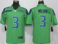 Mens Nfl Seattle Seahawks #3 Russell Wilson Green 2017 Vapor Untouchable Limited Player Nike Jersey