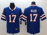 Mens Nfl Buffalo Bills #17 Josh Allen Blue Vapor Untouchable Limited Nike Jersey