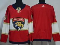 Mens Nhl Florida Panthers Blank Red Adidas Jersey
