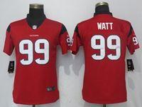 Women Nfl Houston Texans #99 Jj Watt Red Vapor Untouchable Limited Player Jersey
