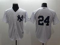 Mens Mlb New York Yankees #24 Gary Sanchez (kraken)  (no Name) White Cool Base Jersey