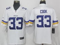Mens Women Youth Nfl Minnesota Vikings #33 Dalvin Cook White Vapor Untouchable Limited Player Jersey