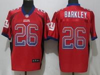 Mens Nfl New York Giants #26 Saquon Barkley Red Drift Fashion Elite Nike Jersey