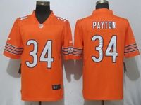 Mens Nfl Chicago Bears #34 Walter Payton Orange Vapor Untouchable Limited Player Jersey