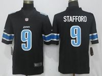 Mens Women Nfl Detroit Lions Custom Made Black Vapor Untouchable Limited Jersey