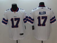 Mens Nfl Buffalo Bills #17 Josh Allen White Vapor Untouchable Limited Player Jersey