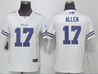 Women Nfl Buffalo Bills #17 Josh Allen White Vapor Untouchable Limited Player Jersey