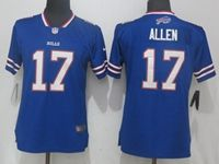 Women Nfl Buffalo Bills #17 Josh Allen Blue Vapor Untouchable Limited Player Jersey
