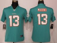 Women Nfl Miami Dolphins #13 Dan Marino Green 2017 Vapor Untouchable Limited Player Jersey