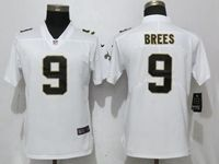 Women Youth Nfl New Orleans Saints #9 Drew Brees White Vapor Untouchable Limited Player Jersey