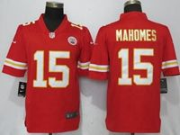 Mens Women Youth Nfl Kansas City Chiefs #15 Patrick Mahomes Red Vapor Untouchable Limited Player Jersey