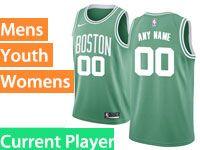 Mens Women Youth Nba Boston Celtics Boston Green Icon Edition Nike Current Player Swingman Jersey
