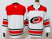 Mens Nhl Carolina Hurricanes Blank White Away Adidas Jersey