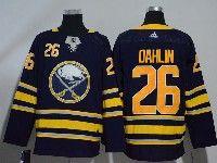 Mens Nhl Buffalo Sabres #26 Rasmus Dahlin Dark Blue Adidas Jersey