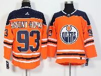 Mens Adidas Nhl Edmonton Oilers #93 Ryan Nugent-hopkins Orange Jersey