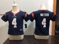 Kids Nfl Houston Texans #4 Deshaun Watson Blue Jersey