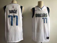 Mens Nba Dallas Mavericks #77 Luka Doncic White 2018 Nba Draft Nike Authentic Jersey