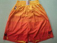 Mens Nba Utah Jazz City Edition Nike Red Orange Shorts