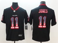 Mens Atlanta Falcons #11 Julio Jones 2018 Usa Flag Fashion Black Vapor Untouchable Limited Jersey