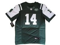Mens Nfl New York Jets #14 Sam Darnold Green Elite Nike Jersey