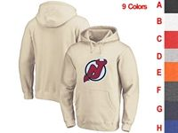 Mens Nhl New Jersey Devils 9 Colors One Front Pocket Hoodie Jersey