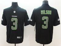 Mens Nfl Seattle Seahawks #3 Russell Wilson 2018 Fashion Impact Black Vapor Untouchable Limited Jersey