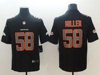 Mens Nfl Denver Broncos #58 Von Miller 2018 Fashion Impact Black Vapor Untouchable Limited Jersey