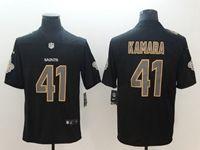 Mens Nfl New Orleans Saints #41 Alvin Kamara 2018 Fashion Impact Black Vapor Untouchable Limited Jersey