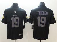 Mens Nfl Minnesota Vikings #19 Adam Thielen 2018 Fashion Impact Black Vapor Untouchable Limited Jersey