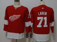 Women Youth Nhl Detroit Red Wings #71 Dylan Larkin Adidas Red Jersey