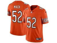 Mens Women Youth Nfl Chicago Bears #52 Khalil Mack Orange Vapor Untouchable Limited Player Jersey