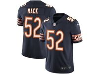 Mens Women Youth Nfl Chicago Bears #52 Khalil Mack Blue Vapor Untouchable Limited Player Jersey