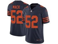 Mens Women Youth Nfl Chicago Bears #52 Khalil Mack Alternate Blue Vapor Untouchable Limited Player Jersey