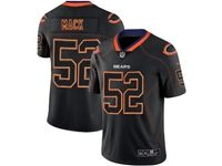 Mens Nfl Chicago Bears #52 Khalil Mack 2018 Lights Out Black Vapor Untouchable Limited Jersey