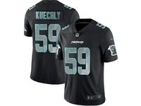 Mens Nfl Carolina Panthers #59 Luke Kuechly 2018 Fashion Impact Black Vapor Untouchable Limited Jersey