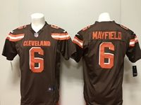 Mens Nfl Cleveland Browns #6 Baker Mayfield Nike Brown Game Jersey