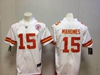 Mens Women Nfl Kansas City Chiefs #15 Patrick Mahomes White Vapor Untouchable Limited Player Jersey