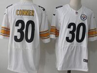 Mens Nfl Pittsburgh Steelers #30 James Conner White Elite Jersey