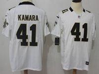 Mens Nfl New Orleans Saints #41 Alvin Kamara 2018 White Vapor Untouchable Limited Jersey