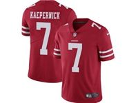 Mens Nfl San Francisco 49ers #7 Colin Kaepernick Red Vapor Untouchable Limited Jersey