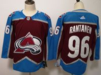 Mens Nhl Colorado Avalanche #96 Mikko Rantanen Red Adidas Jersey